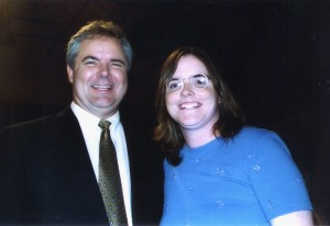 Mary with Marcus Grodi