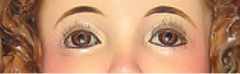 Infant Jesus Eyes