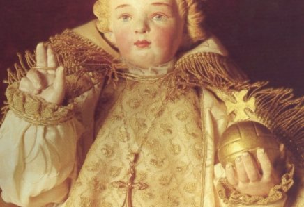 Infant Jesus Hands