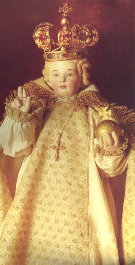 Infant of Prague at Lisieux