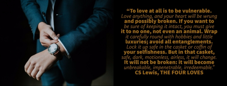 quote from THE FOUR LOVES